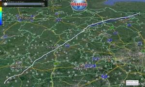 Track GE 213km
